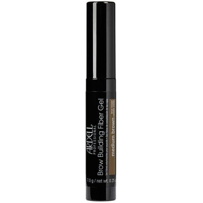 Ardell Professional Brow Building Fiber Gel - Medium Brown  0.25 OZ