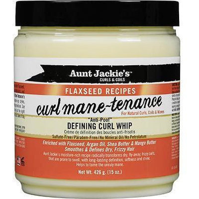 Aunt Jackie's Curl Mane-Tenance Defining Curl Whip 15 OZ