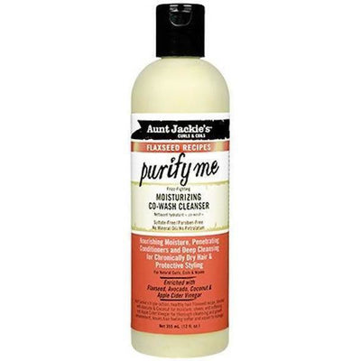 Aunt Jackie's Purify Me Moisturizing Co-Wash Cleanser 12 OZ