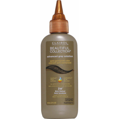 Clairol Beautiful Collection Advanced Gray Solution – Rich Walnut #3W 3.0 OZ