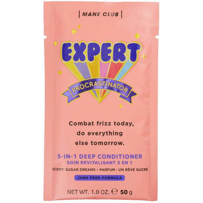 Mane Club Expert Procrastinator 5-in-1 Deep Conditioner Frizz Control Hair Mask 1.8 OZ