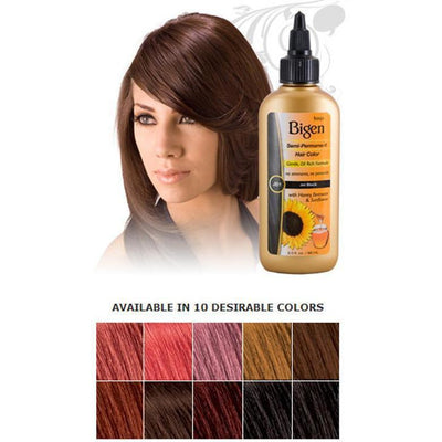 Bigen Semi-Permanent Hair Color – Light Copper Brown CB4 3.0 OZ