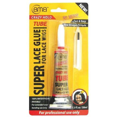 BMB Super Lace Glue Crazy Hold Tube 1 OZ