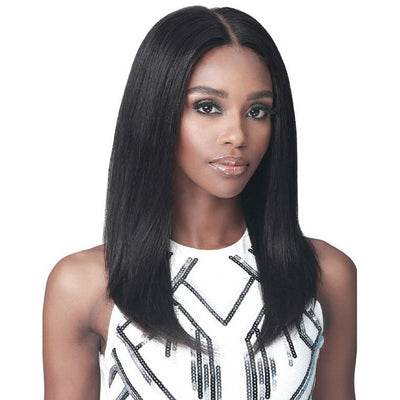 "Bobbi Boss 13"" x 6"" Glueless 100% Unprocessed Human Hair Lace Front Wig - MHLF-607 Parker"