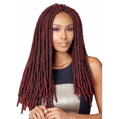 Bobbi Boss Bomba Dreadlocks Synthetic Braids – Faux Locs Soul 18""