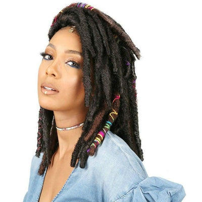 Bobbi Boss Synthetic Braids – Bae Locs 12""