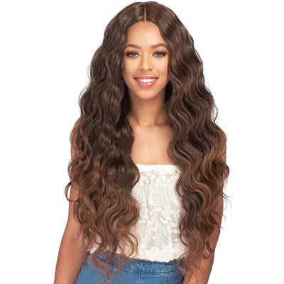Bobbi Boss Human Hair Blend Miss Origin One Pack Solution Weave – Natural Body Wave