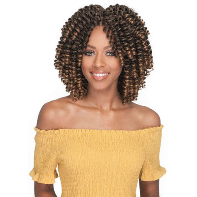 Bobbi Boss Synthetic Braids – 2X Brazilian FlexiRod Curl 6""