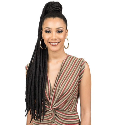 Bobbi Boss Synthetic Speedy Up-Do Drawstring Ponytail - Faux Loc L