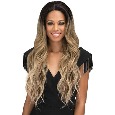 Bobbi Boss Synthetic Swiss Lace Front Wig – MLF-300 Eris