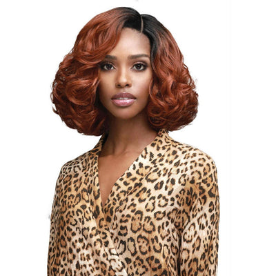Bobbi Boss Synthetic Swiss Lace Front Wig – MLF-389 Cindy