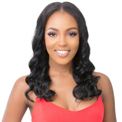 Its A Wig 100% Natural Human Hair Lace Front Wig - HH U Part Body Wave