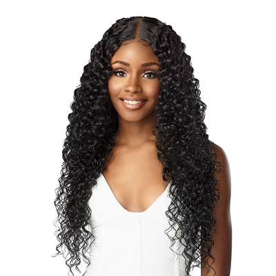 Sensationnel Butta Human Hair Blend HD Lace Front Wig - Bohemian 28""