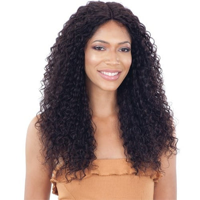Shake N' Go Naked Brazilian Natural 100% Human Hair Lace Front Wig - Breeon