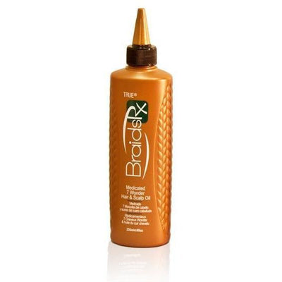 Braids Rx Medicated 7 Wonder Hair & Scalp Oil  8 OZ