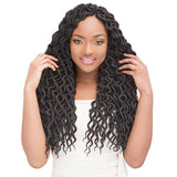 Janet Collection Synthetic Braids – 2x Mambo Natural Coily Locs 18""