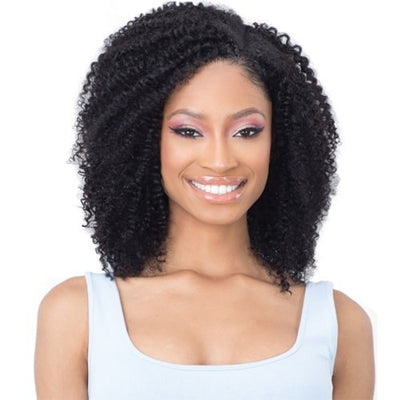 "Shake-N-Go Naked 100% Human Hair Clip-In Weave - Coil Curl 14"" 9 PCS"