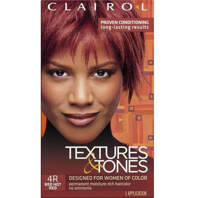 Clairol Professional Textures & Tones Kit – 4R Red Hot Red