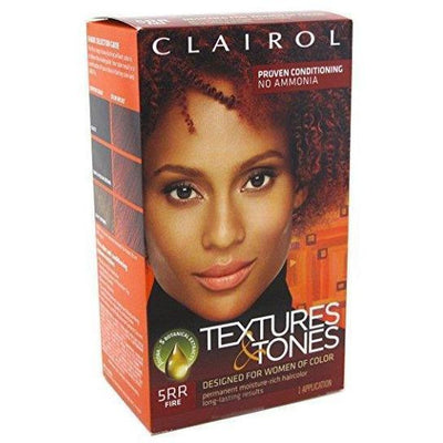 Clairol Professional Textures & Tones Kit – 5RR Fire