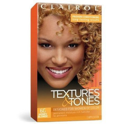 Clairol Professional Textures & Tones Kit – 6G Honey Blonde