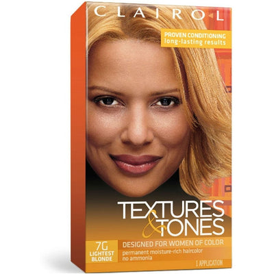 Clairol Professional Textures & Tones Kit – 7G Lightest Blonde