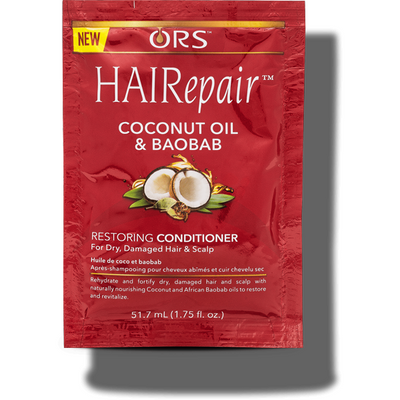 ORS Hairepair Coconut Oil & Baobab Restoring Conditioner 1.75 OZ
