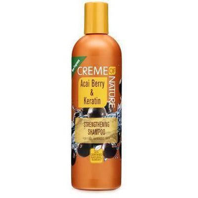Creme Of Nature Acai Berry & Keratin Strengthening Shampoo 12 oz