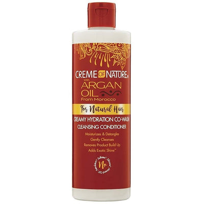 Creme Of Nature Argan Oil Creamy Hydration Co-Wash Cleansing Conditioner 12 OZ