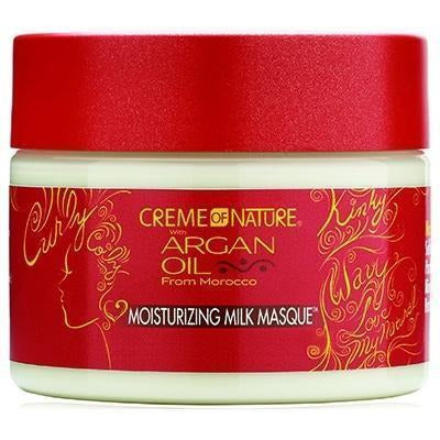 Creme Of Nature Argan Oil Moisturizing Milk Masque 11.5 OZ