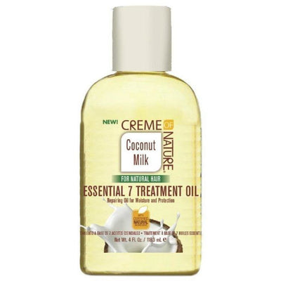 Creme Of Nature Coconut Milk Essential 7 Treatment Oil 4 OZ