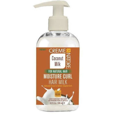 Creme Of Nature Coconut Milk Moisture Curl Hair Milk 8.3 OZ