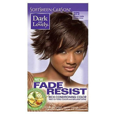 Dark and Lovely Fade Resist Rich Conditioning Color 373 Brown Sable