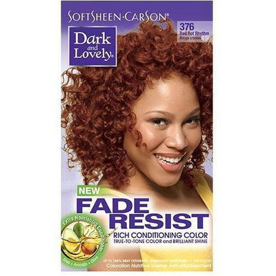Dark and Lovely Fade Resist Rich Conditioning Color 376 Red Hot Rhythm