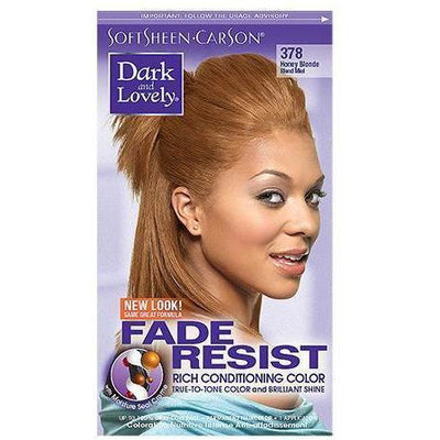 Dark and Lovely Fade Resist Rich Conditioning Color 378 Honey Blonde