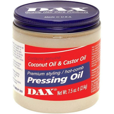 Dax Coconut & Castor Oil - Premium Styling / Hot Comb Pressing Oil 7.5 OZ