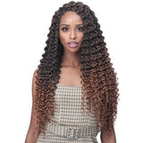 Bobbi Boss Synthetic Crochet Braids -  2X Brazilian Deep Curl 20""
