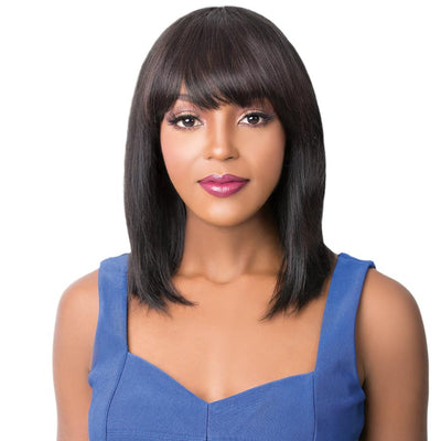 It's A Wig! Wet & Wavy Brazilian Human Hair Wig - Slick