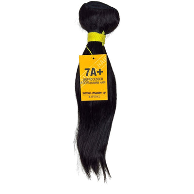 Divatress 7A+ Unprocessed Human Hair Weave – Natural Straight