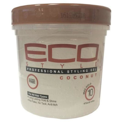 Eco Style Coconut Professional Styling Gel 8 oz