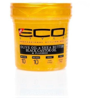 Eco Style Gold Professional Styling Gel 16 OZ