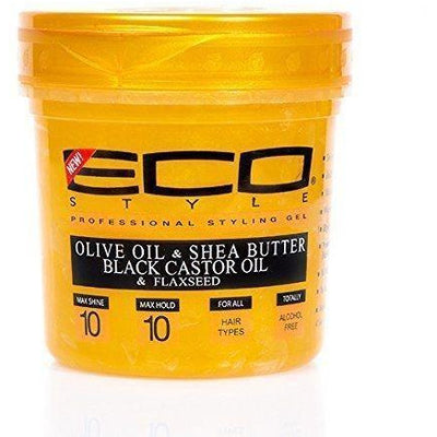 Eco Style Gold Professional Styling Gel 8 OZ