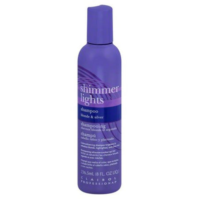 Clairol Professional Shimmer Lights Shampoo 8 OZ