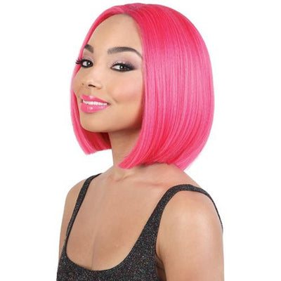 Motown Tress Deep Part Synthetic Swiss Lace Front Wig - LDP-Neon2
