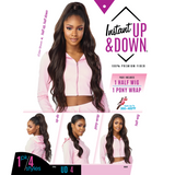 Sensationnel Instant Up & Down Half Wig & Pony Wrap - UD 004