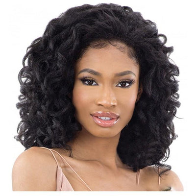 FreeTress Equal Natural Me FullCap Drawstring Synthetic Half Wig – Natural Rod Set 2""