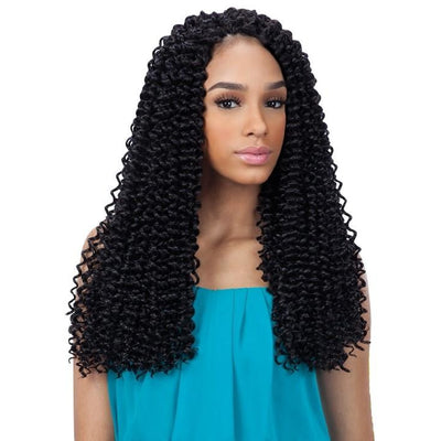 FreeTress Braids – 3x Pre-Loop Water Wave 16""