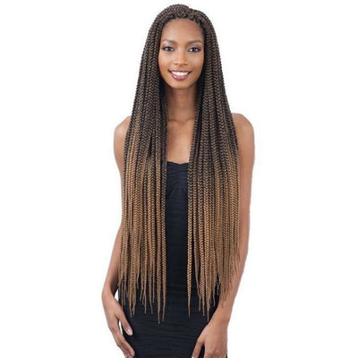 FreeTress Braids – 2x Large Box Braid 30""