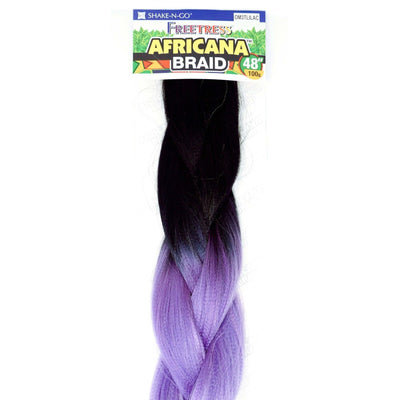 FreeTress Braids – Africana Braid 48""