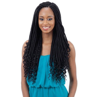 FreeTress Braids – Straight Goddess Loc 18""