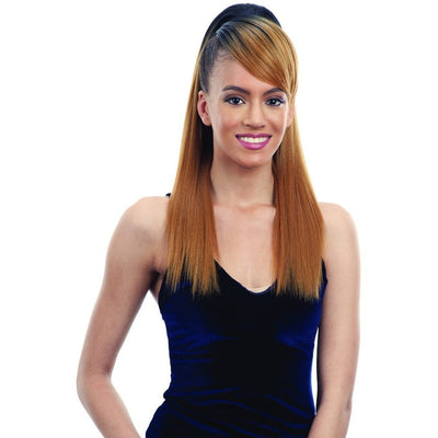 FreeTress Equal Swoop Side Synthetic Bang & Ponytail – Smooth Yaky